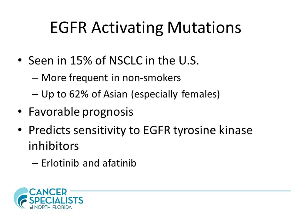 EGFR Activating Mutations