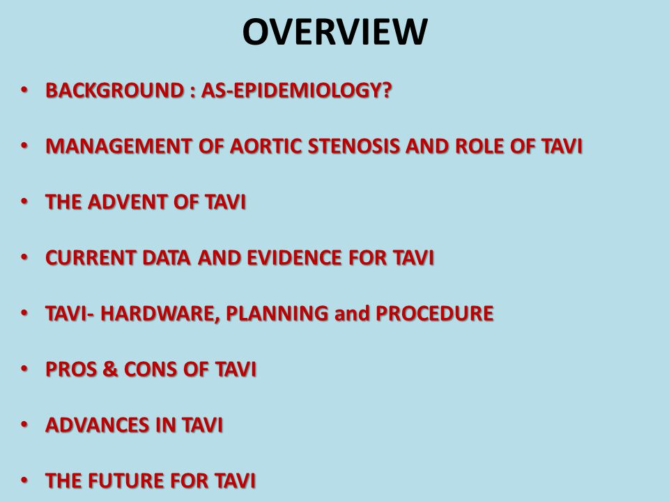 OVERVIEW BACKGROUND : AS-EPIDEMIOLOGY