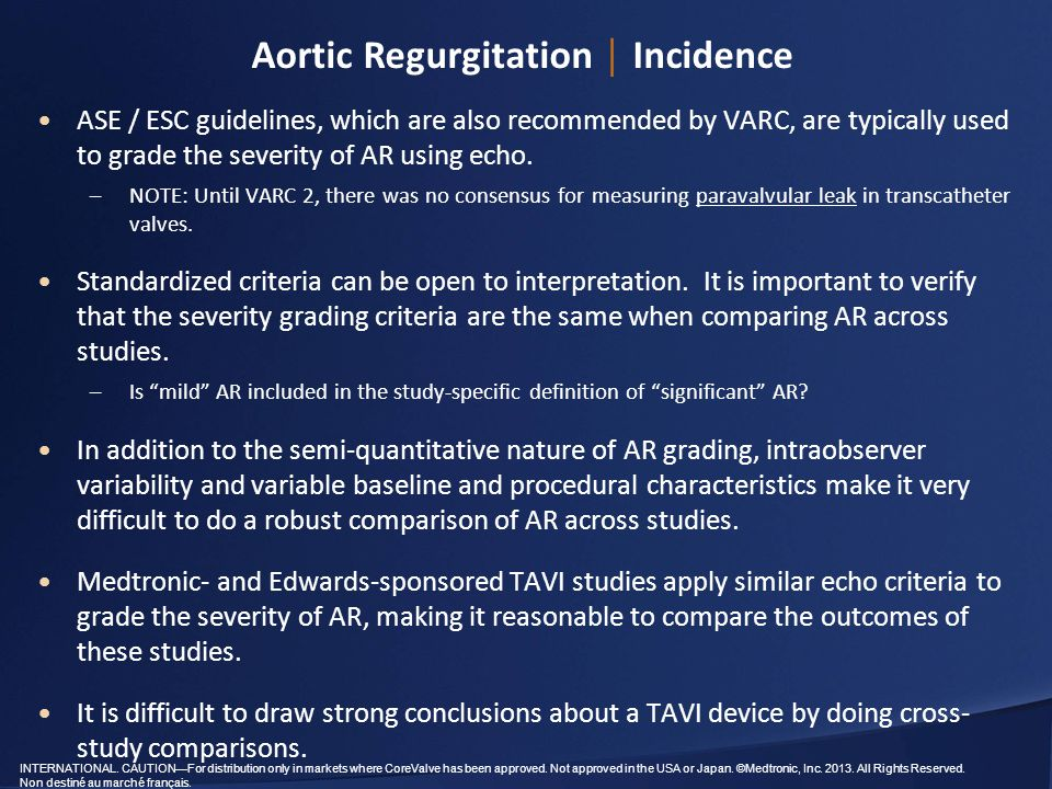 Aortic Regurgitation │ Incidence