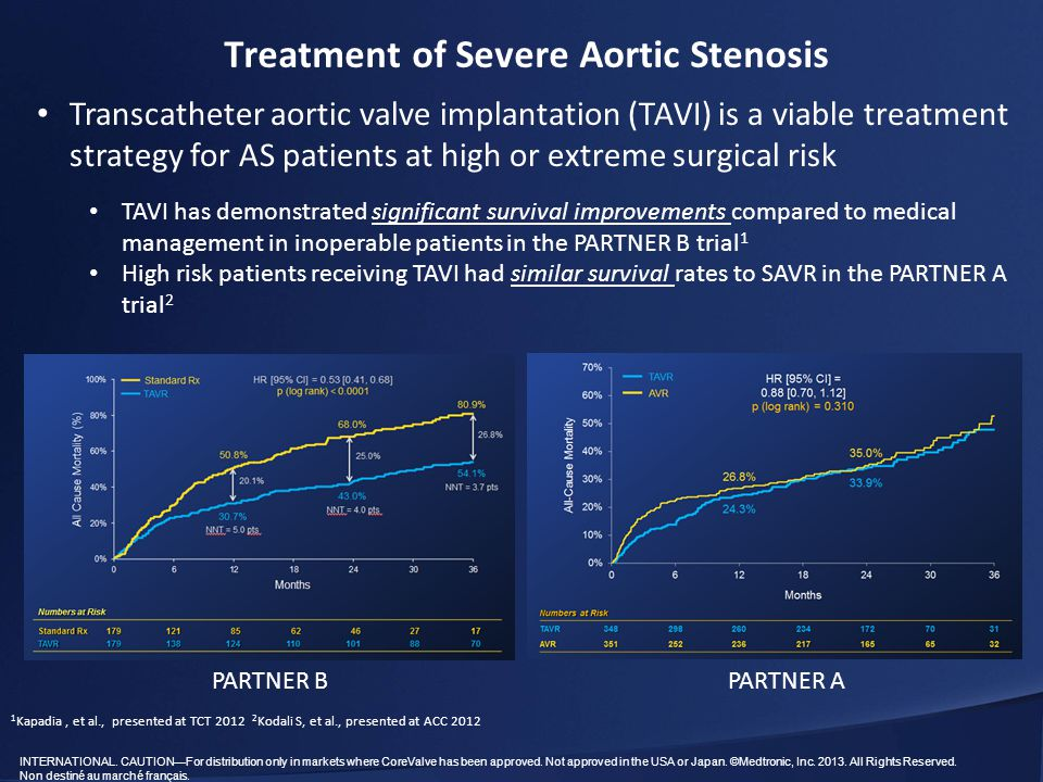 Treatment of Severe Aortic Stenosis