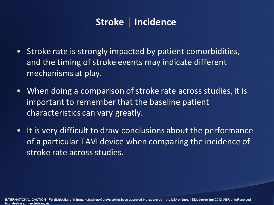 stroke epidemiology There is little data on stroke incidence or prevalence: incidence is 161/  key  words: cerebrovascular disease, stroke, epidemiology, mortality, incidence,.