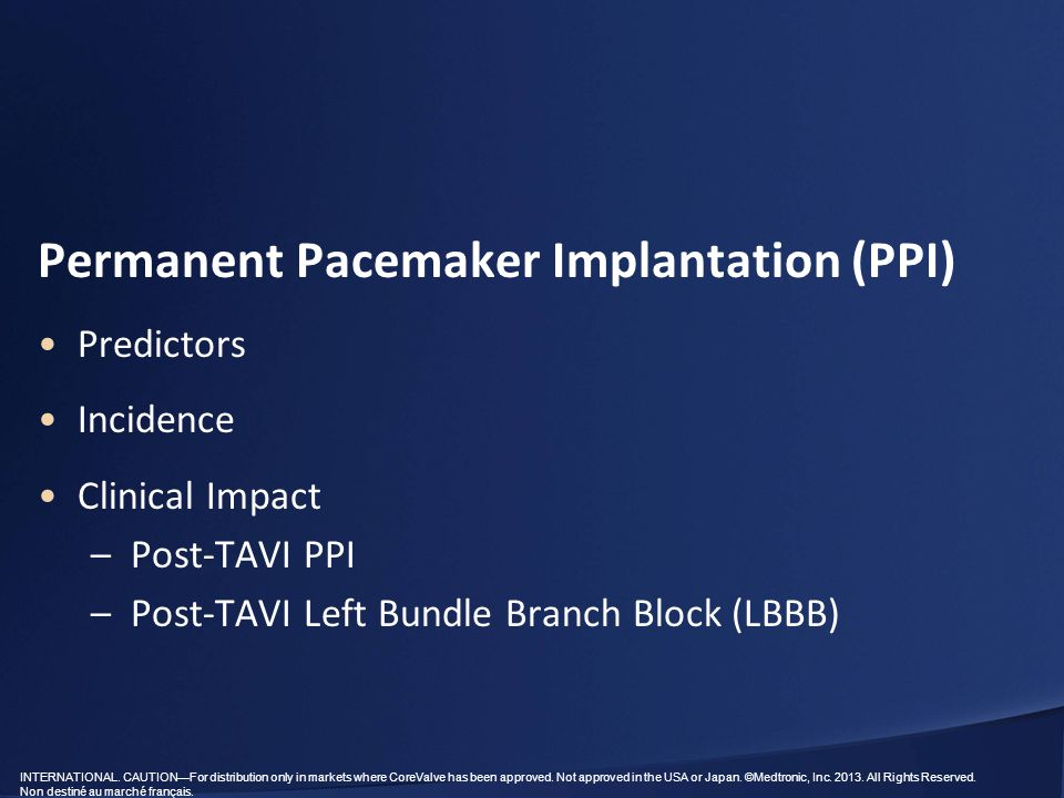 Permanent Pacemaker Implantation (PPI)