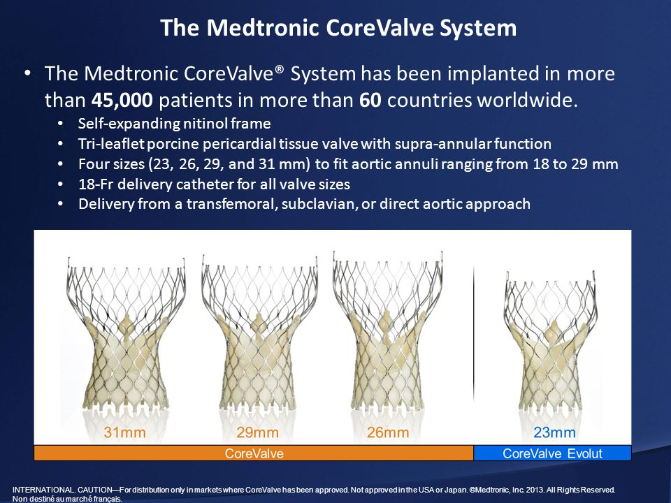 The Medtronic CoreValve System
