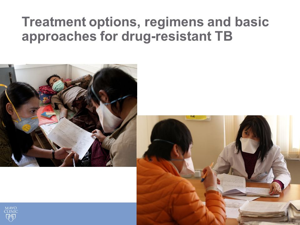 Treatment options, regimens and basic approaches for drug-resistant TB