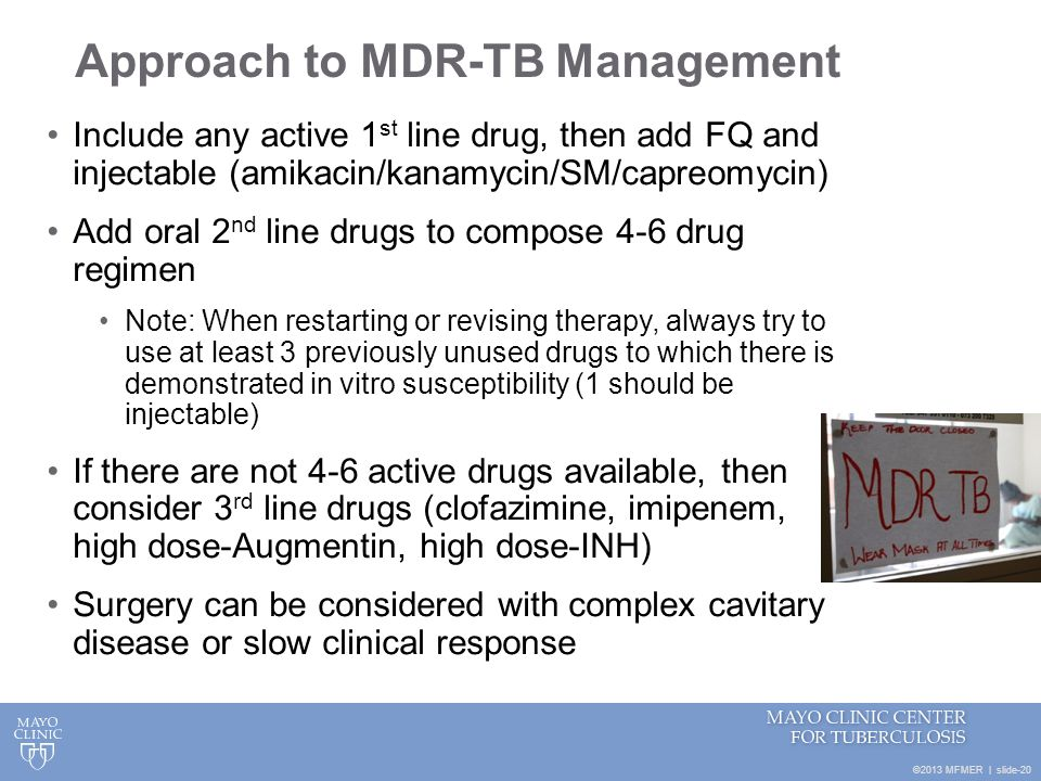 Approach to MDR-TB Management