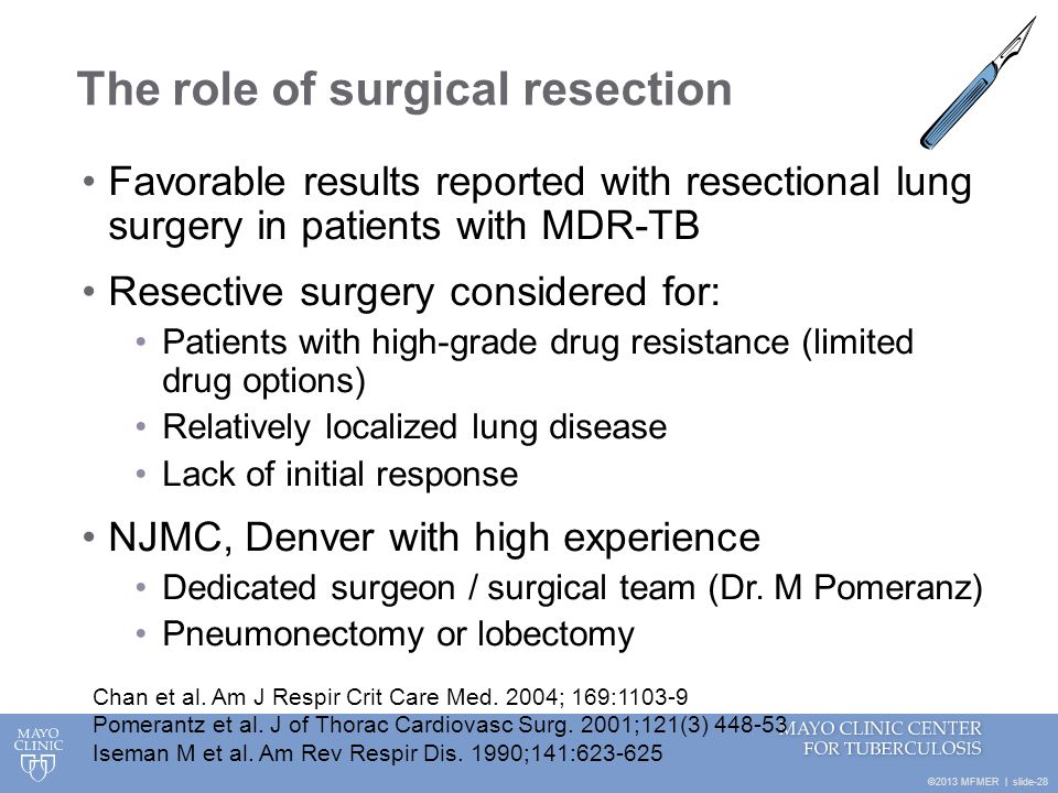The role of surgical resection