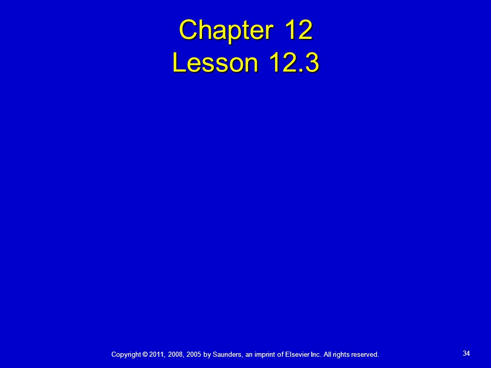 Chapter 12 Lesson 12.3