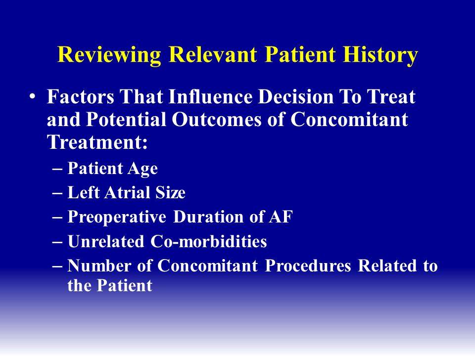 Reviewing Relevant Patient History
