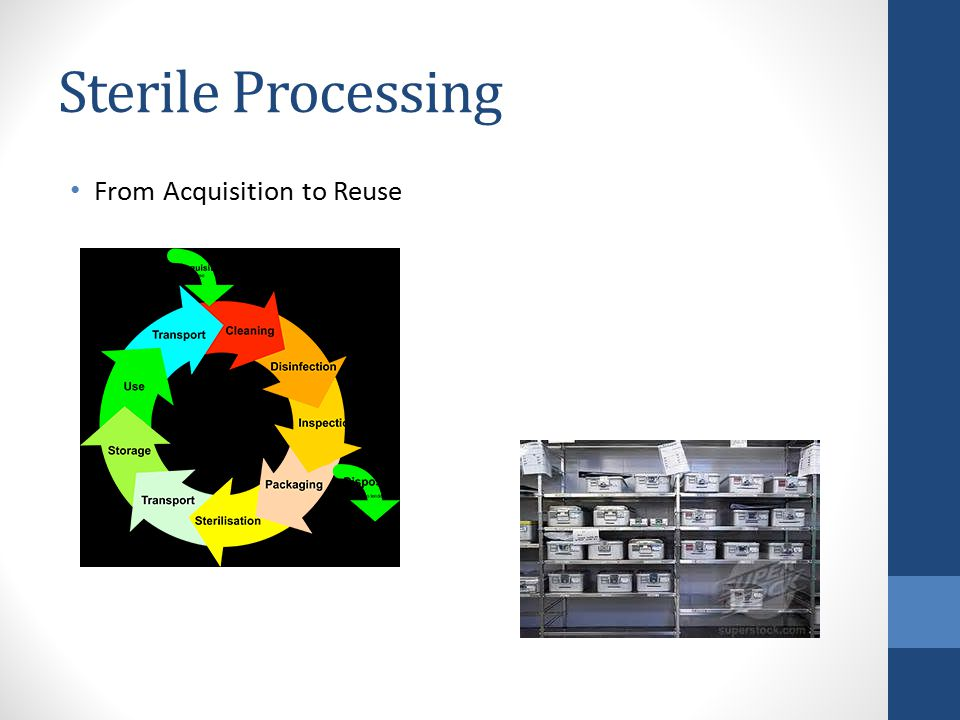 Sterile Processing From Acquisition to Reuse