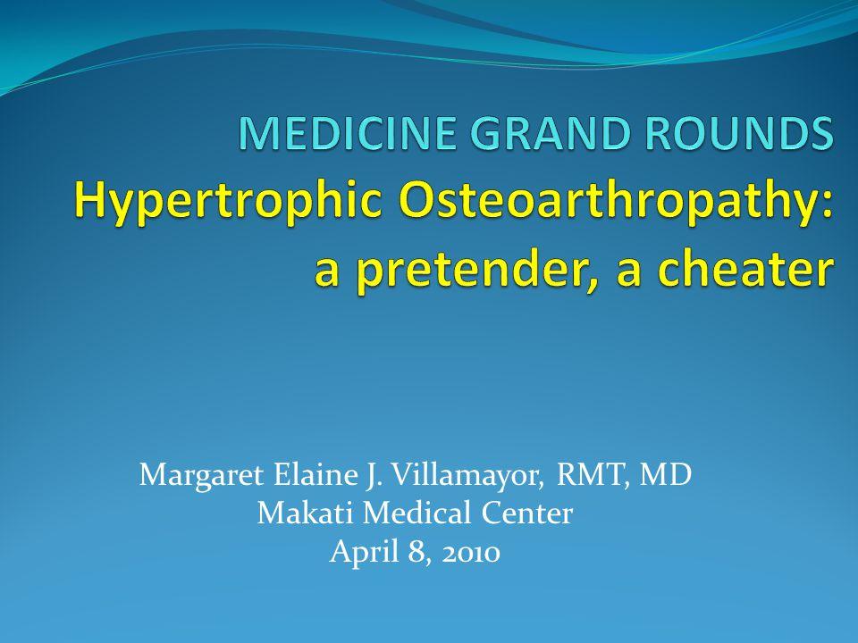 Margaret Elaine J. Villamayor, RMT, MD