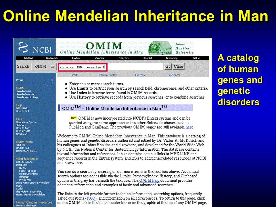 Online Mendelian Inheritance in Man