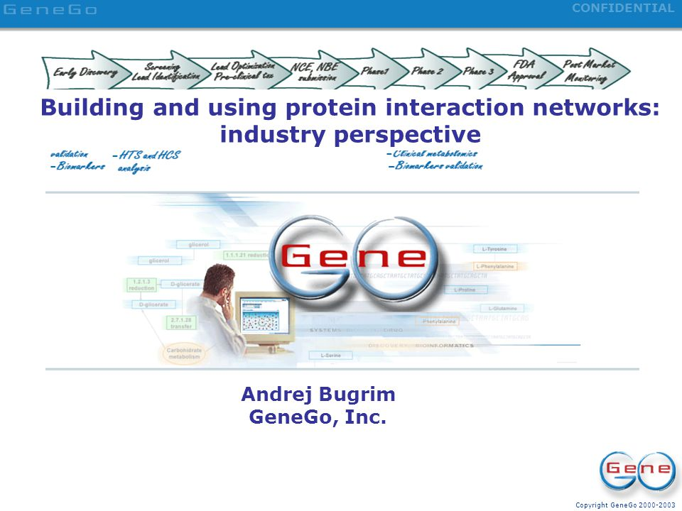 Building and using protein interaction networks: industry perspective