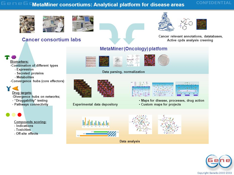 MetaMiner consortiums: Analytical platform for disease areas