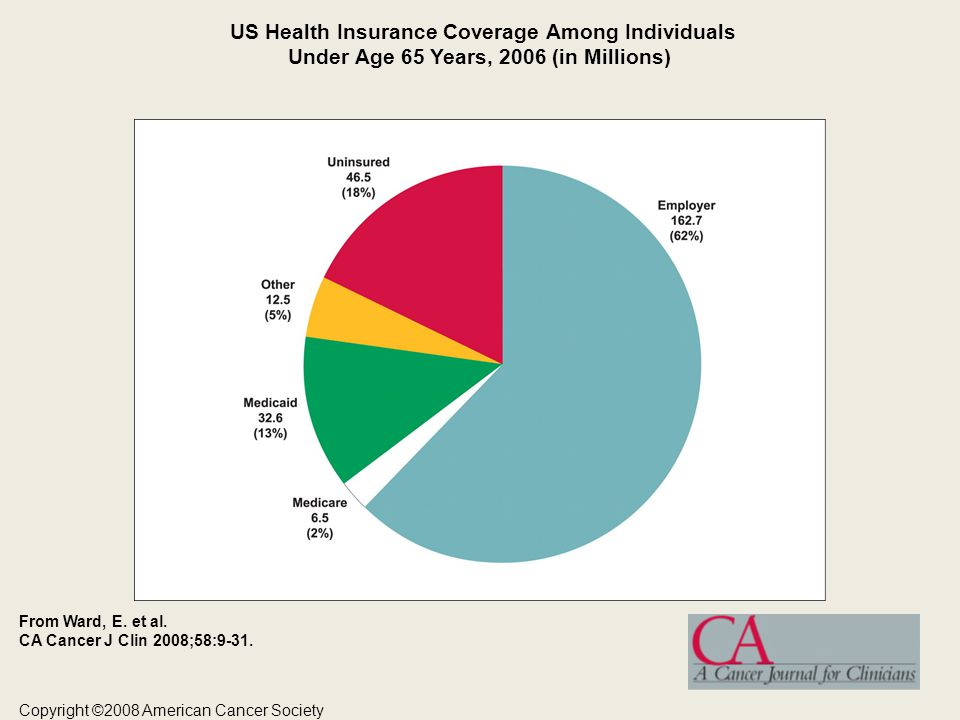 US Health Insurance Coverage Among Individuals