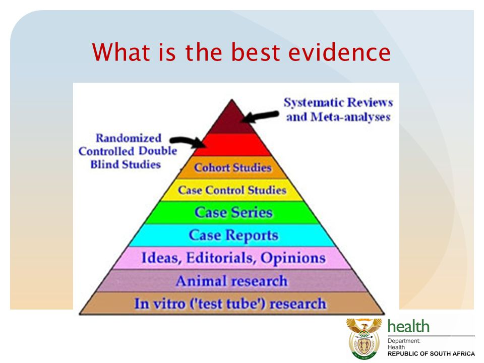 What is the best evidence