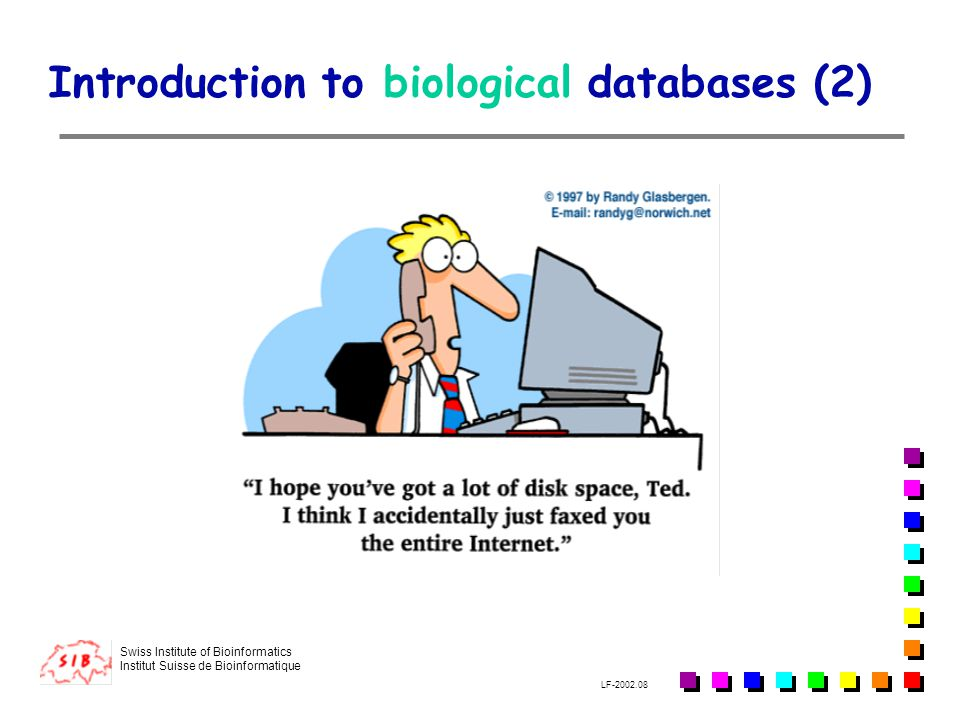 Introduction to biological databases (2)