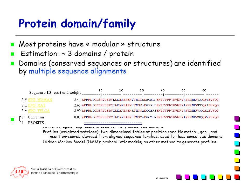 Protein domain/family