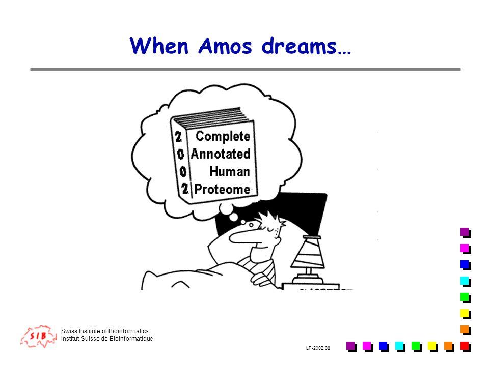 When Amos dreams…