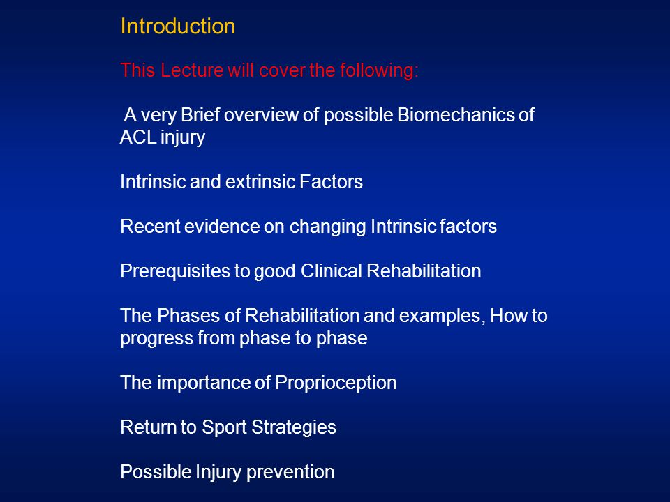 Introduction This Lecture will cover the following: