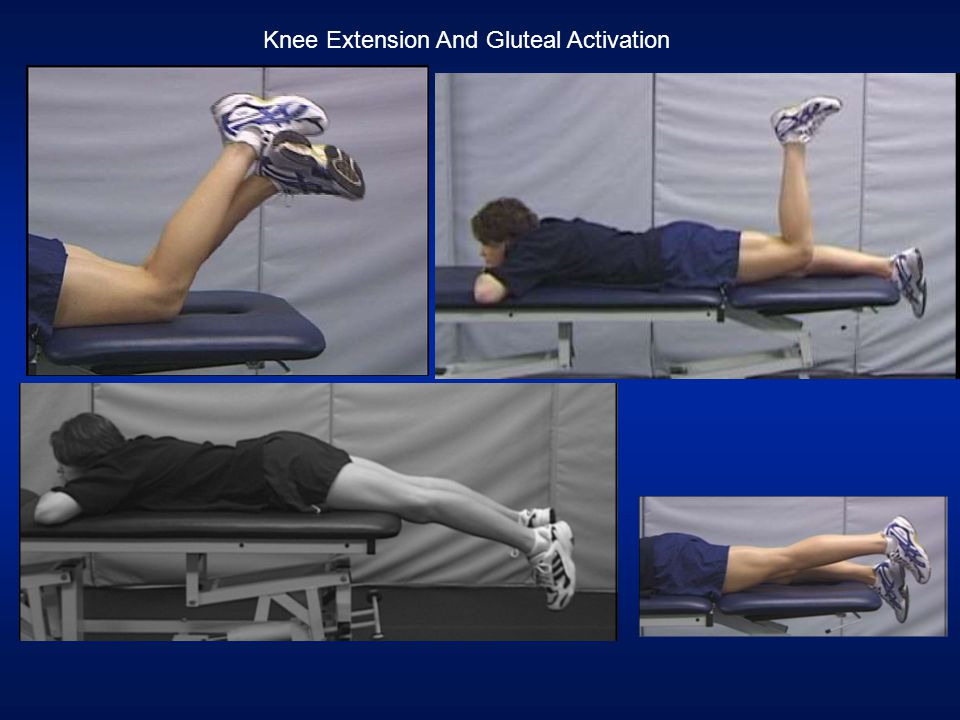 Knee Extension And Gluteal Activation