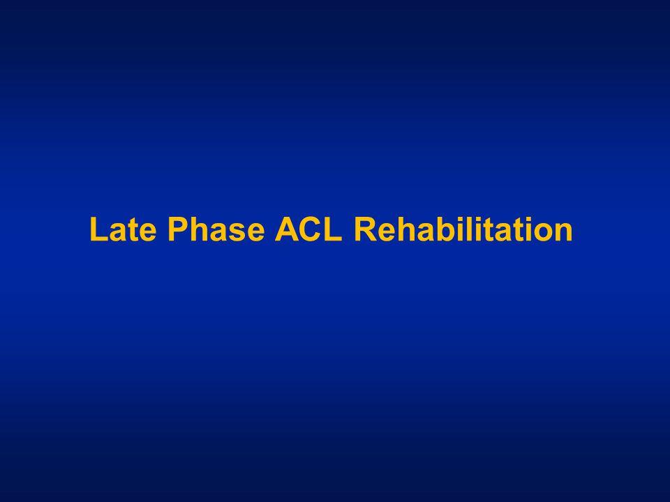 Late Phase ACL Rehabilitation