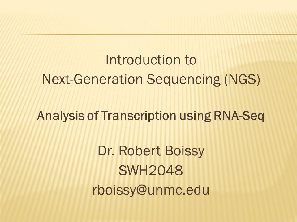 Analysis of Transcription using RNA-Seq