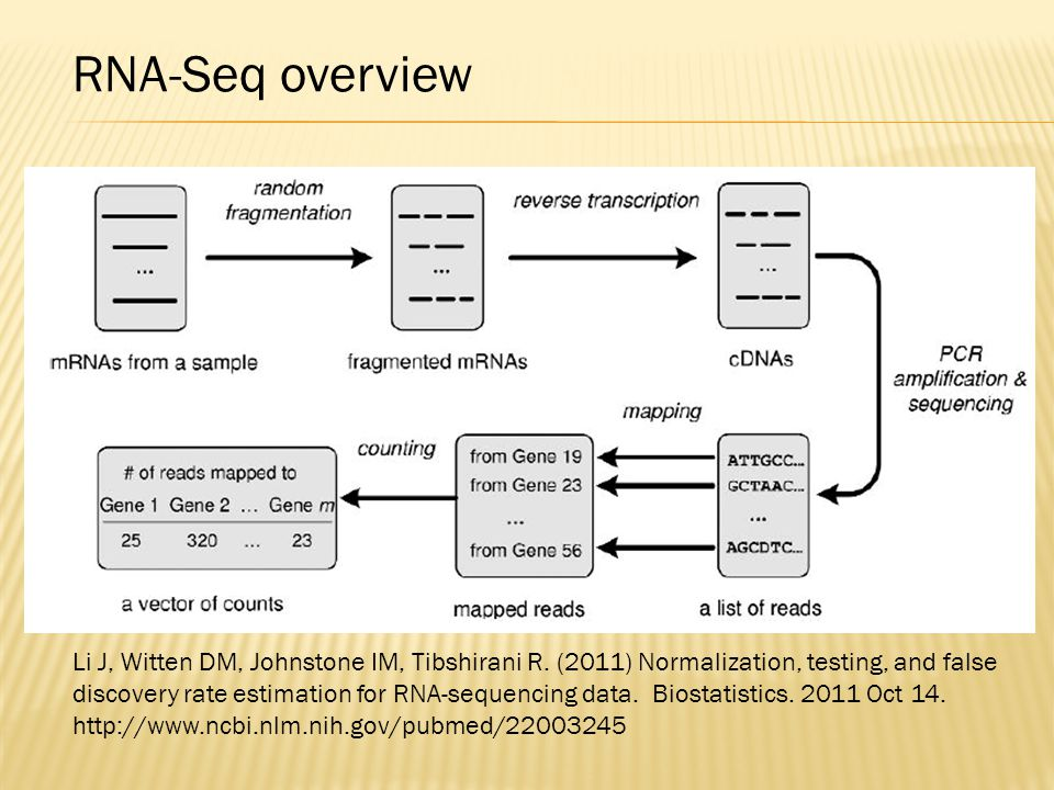 RNA-Seq overview
