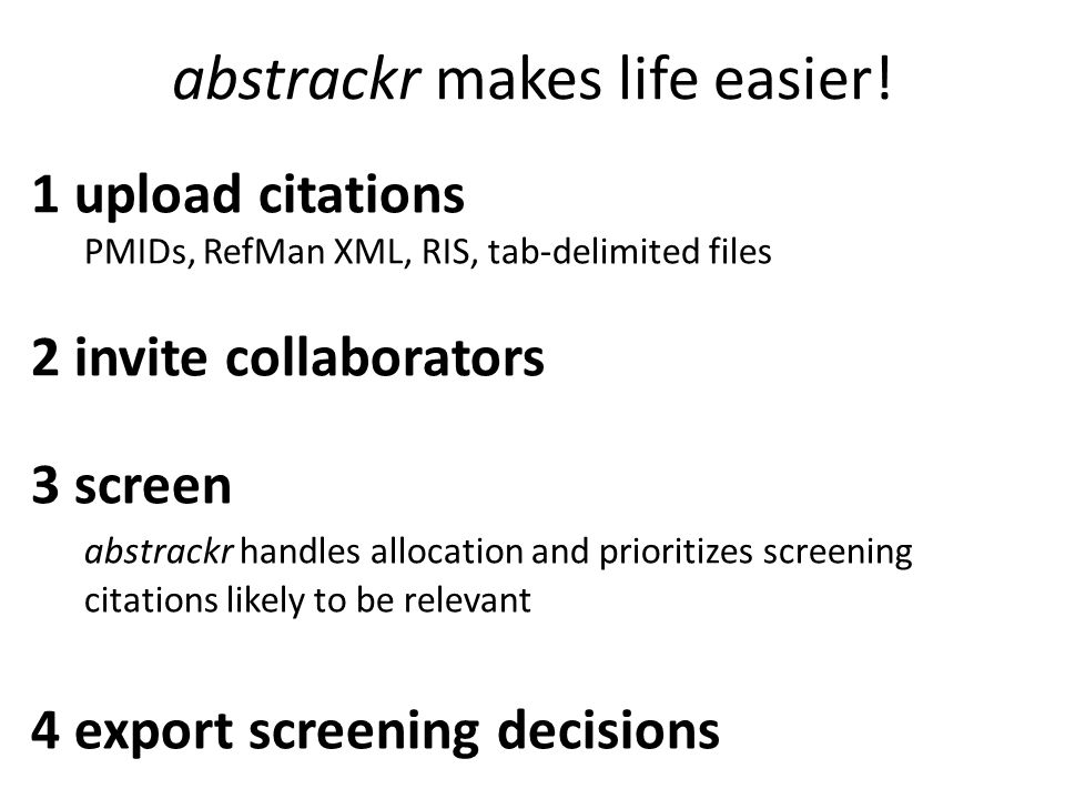 abstrackr makes life easier!