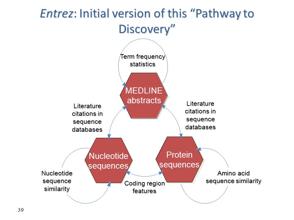 Entrez: Initial version of this Pathway to Discovery