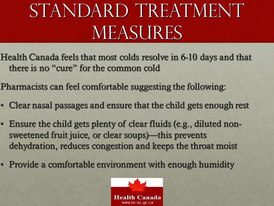 Standard Treatment Measures