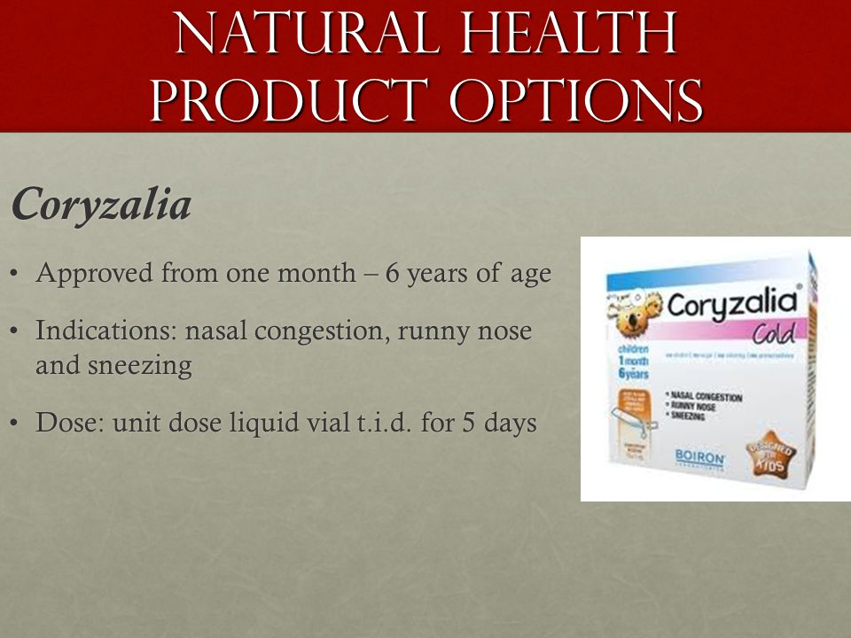 Natural Health Product Options