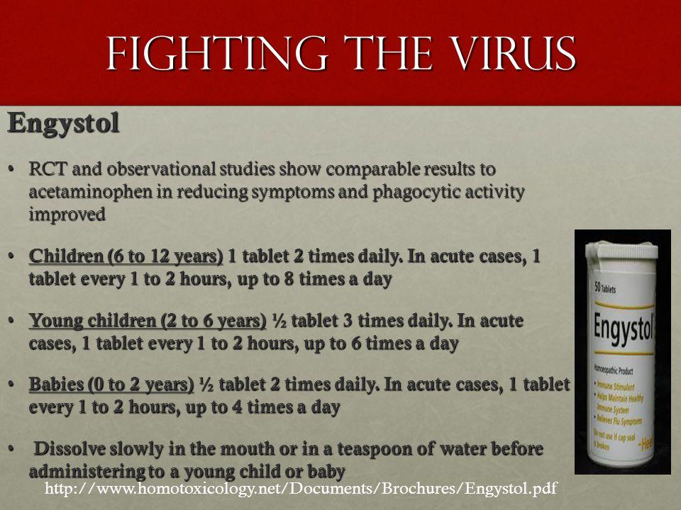 Fighting the Virus Engystol