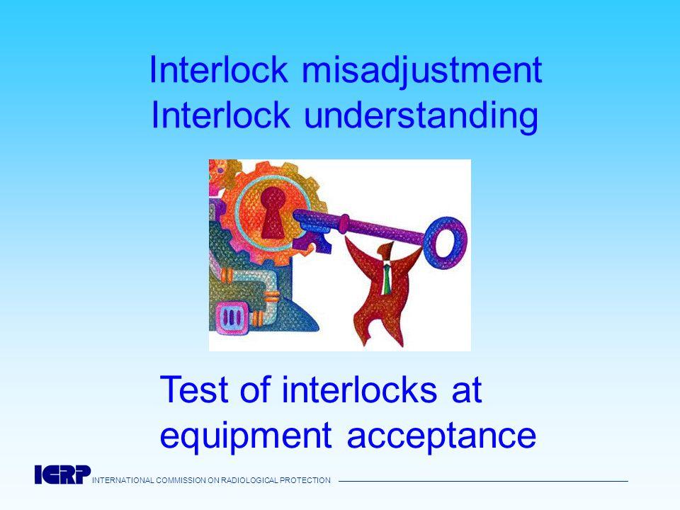 Interlock misadjustment Interlock understanding