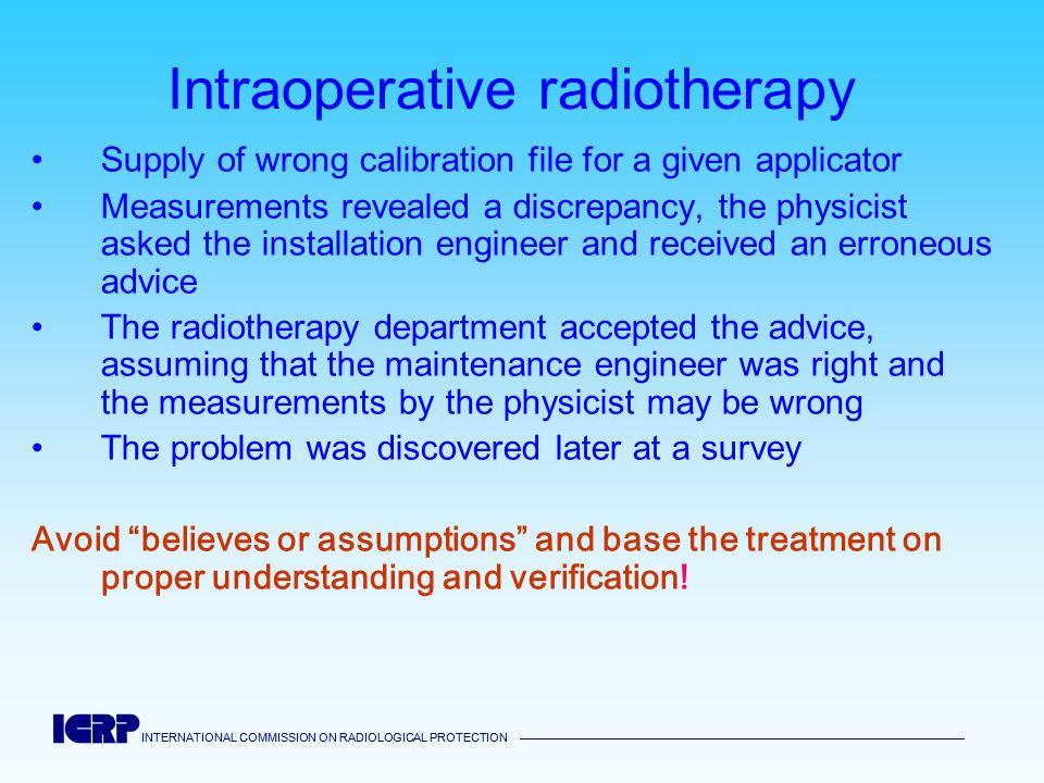 Intraoperative radiotherapy