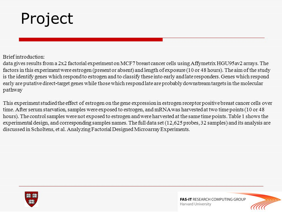 Project Brief introduction: