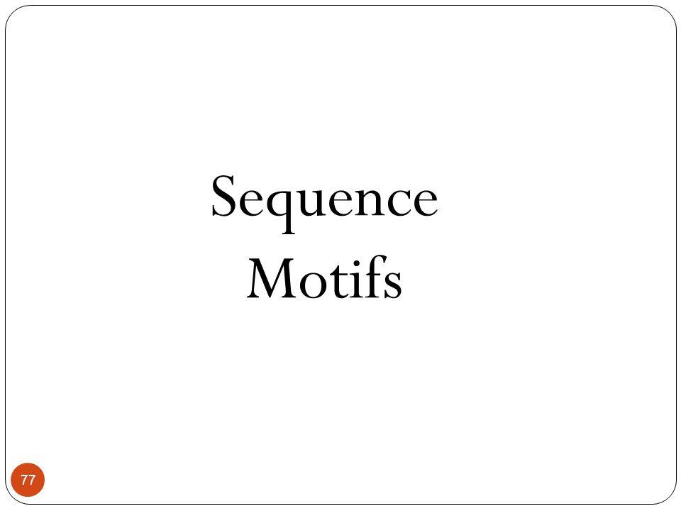 Sequence Motifs