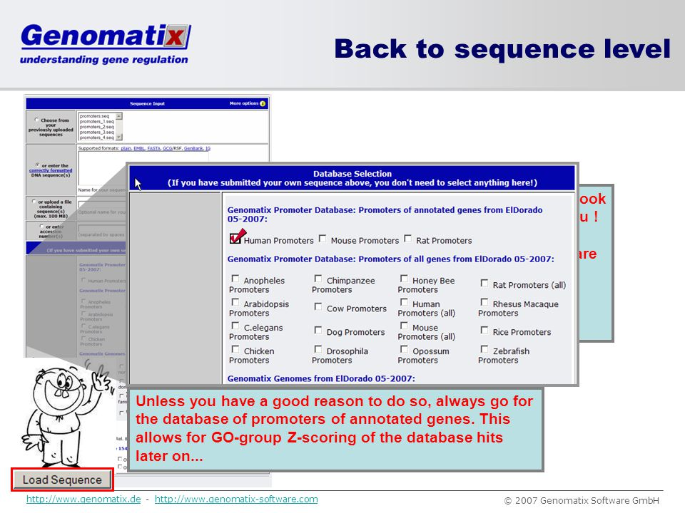 Back to sequence level This should look familiar to you !
