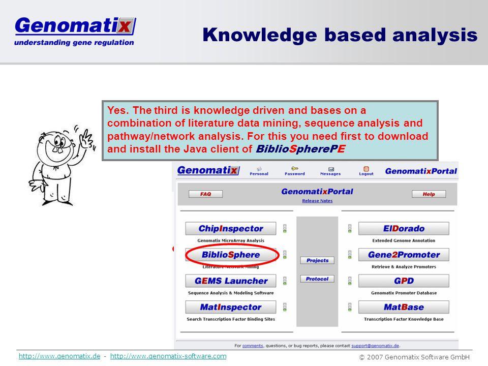 Knowledge based analysis Fine!