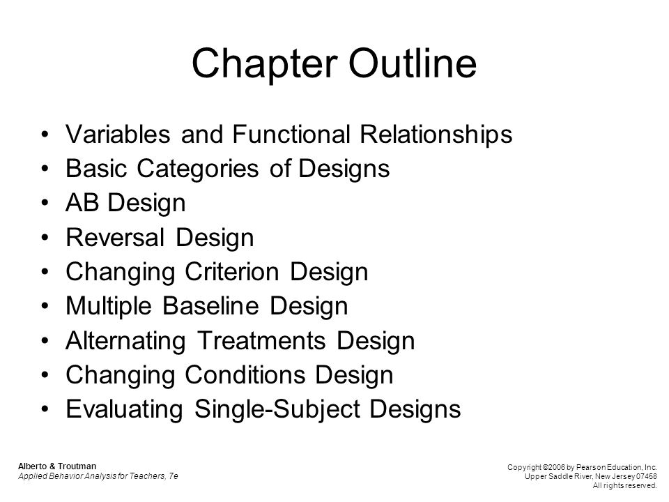 Chapter Outline Variables and Functional Relationships