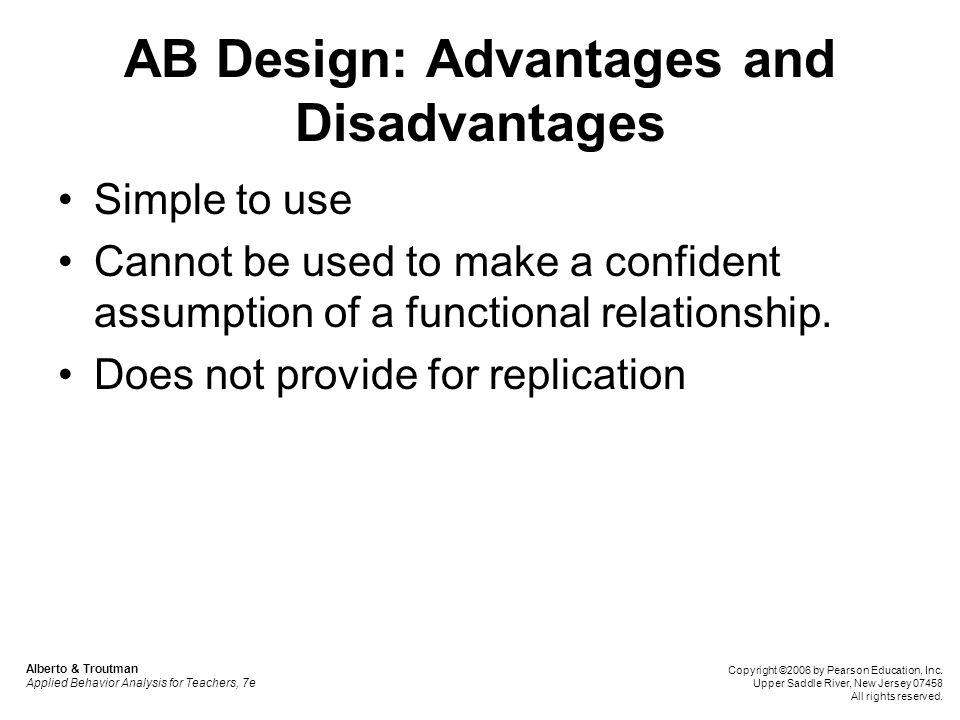 AB Design: Advantages and Disadvantages