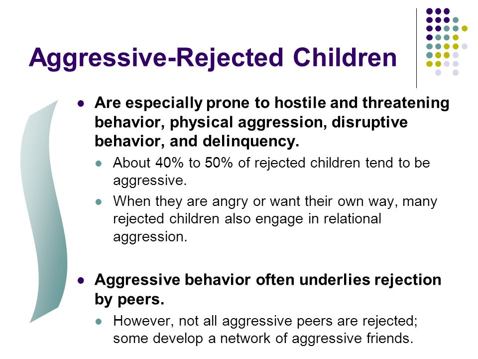 Aggressive-Rejected Children