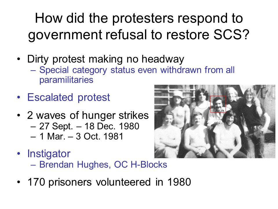 How did the protesters respond to government refusal to restore SCS
