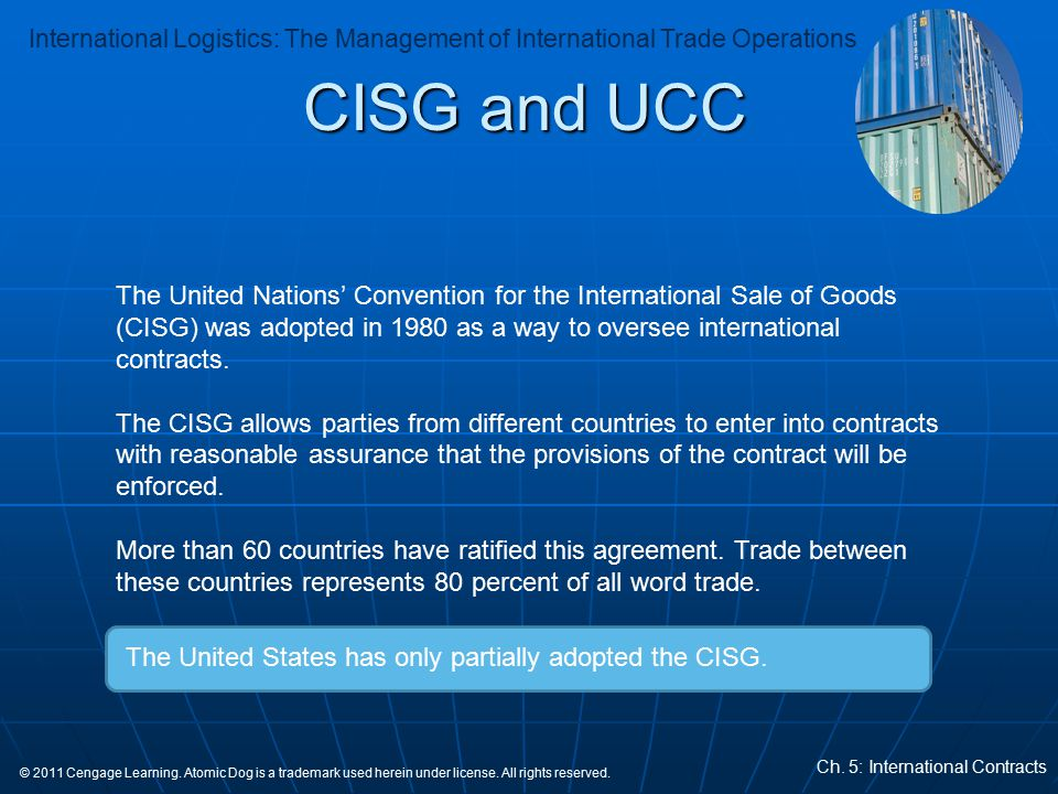 CISG and UCC