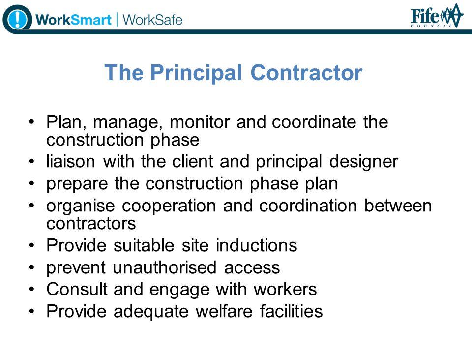 The Principal Contractor