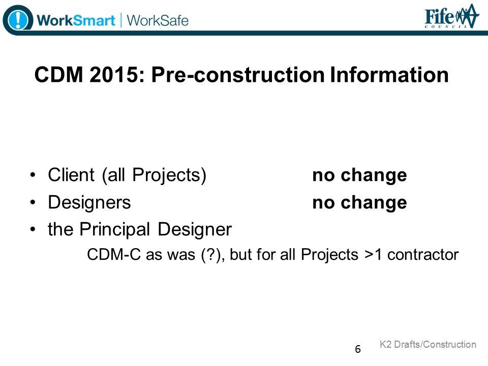 Cdm 2015 key changes and duty holder responsibilities for Cdm construction phase plan template