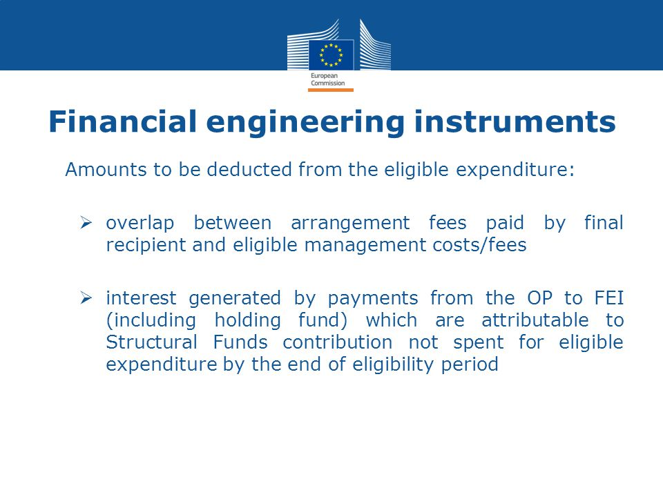 Financial engineering instruments