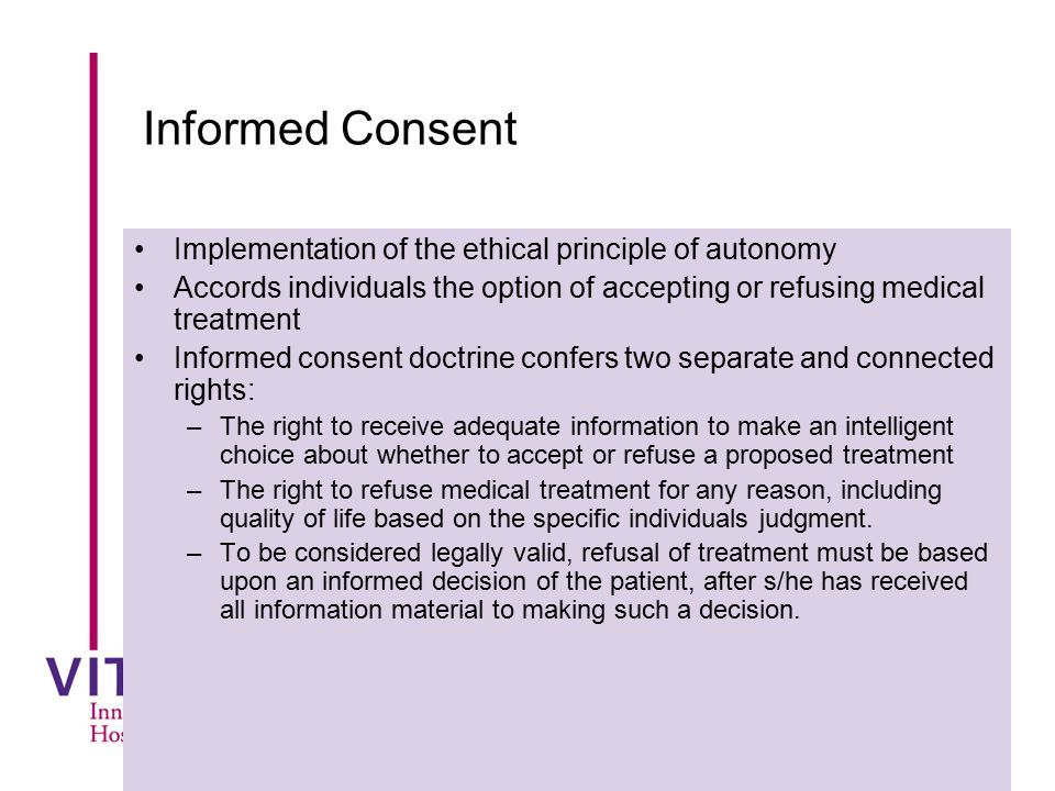 Informed Consent in Research