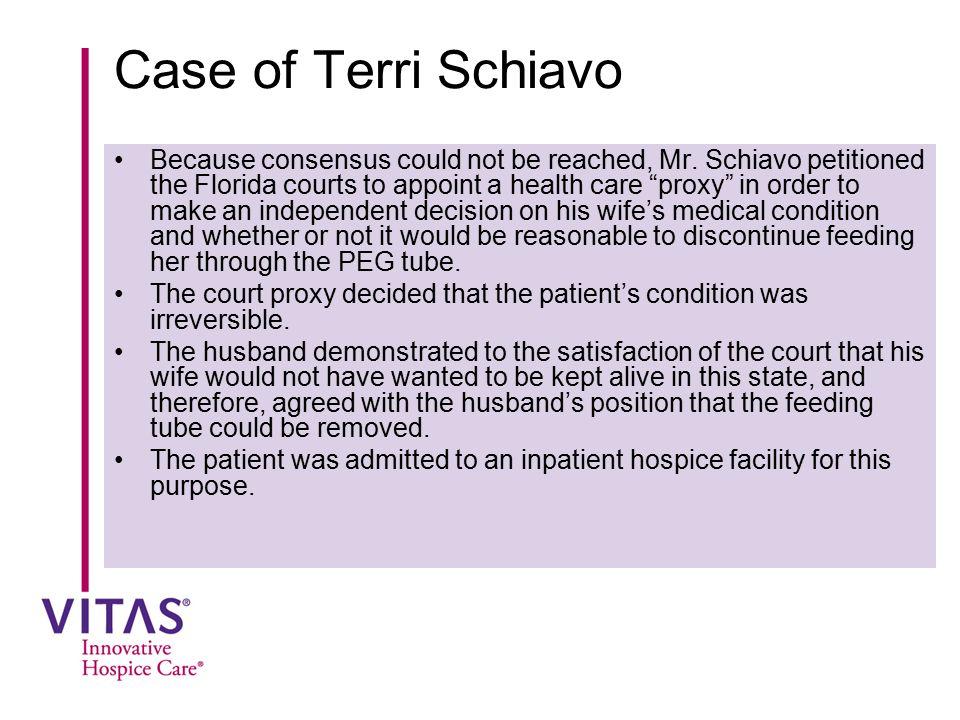 Case of Terri Schiavo