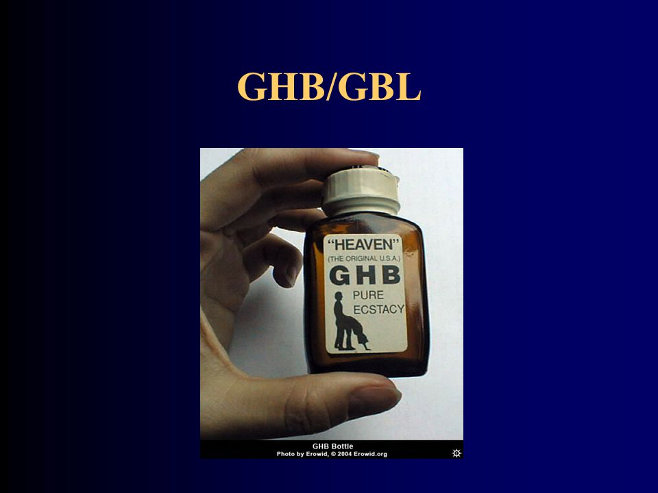 GHB/GBL 2