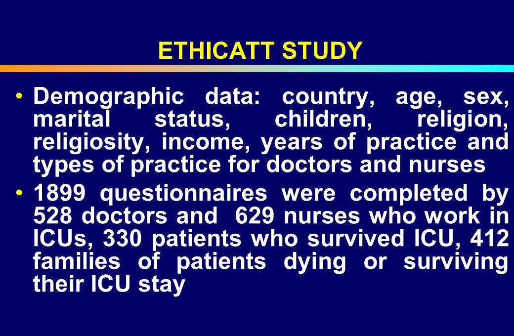 ETHICATT STUDY